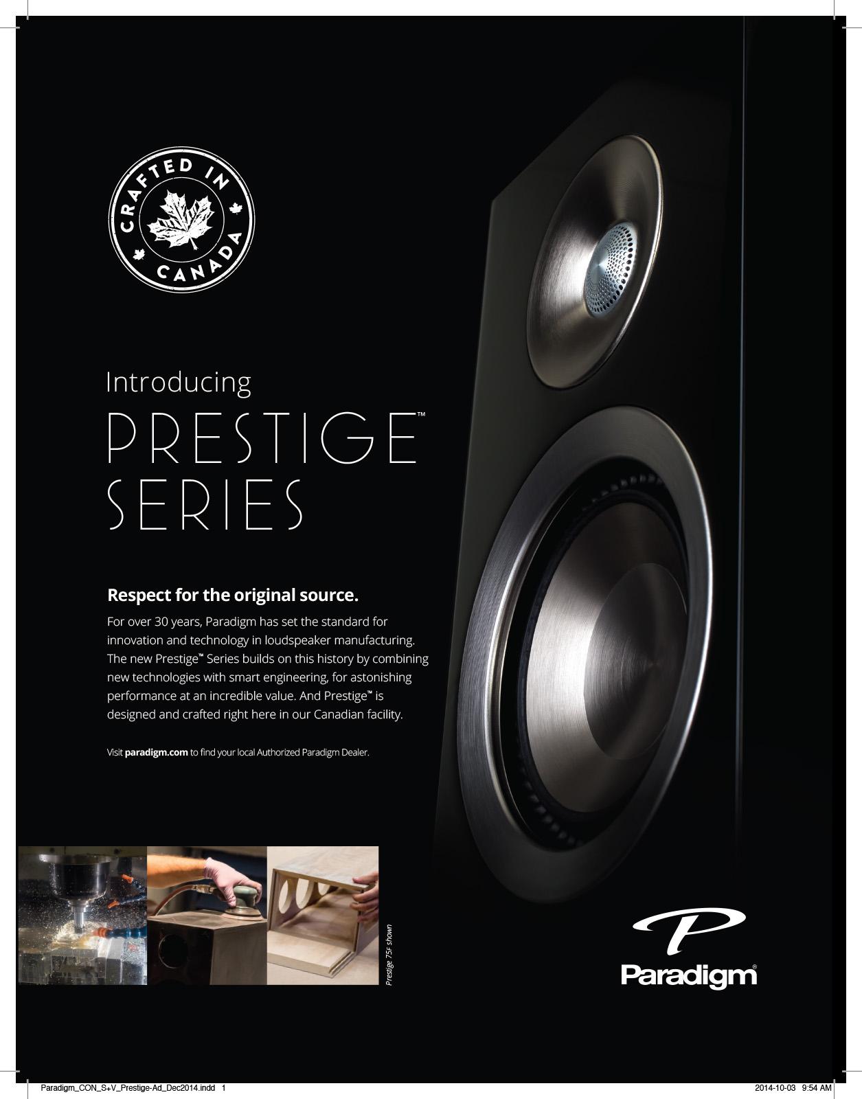 Paradigm_CON_S+V_Prestige-Ad_Dec2014.indd